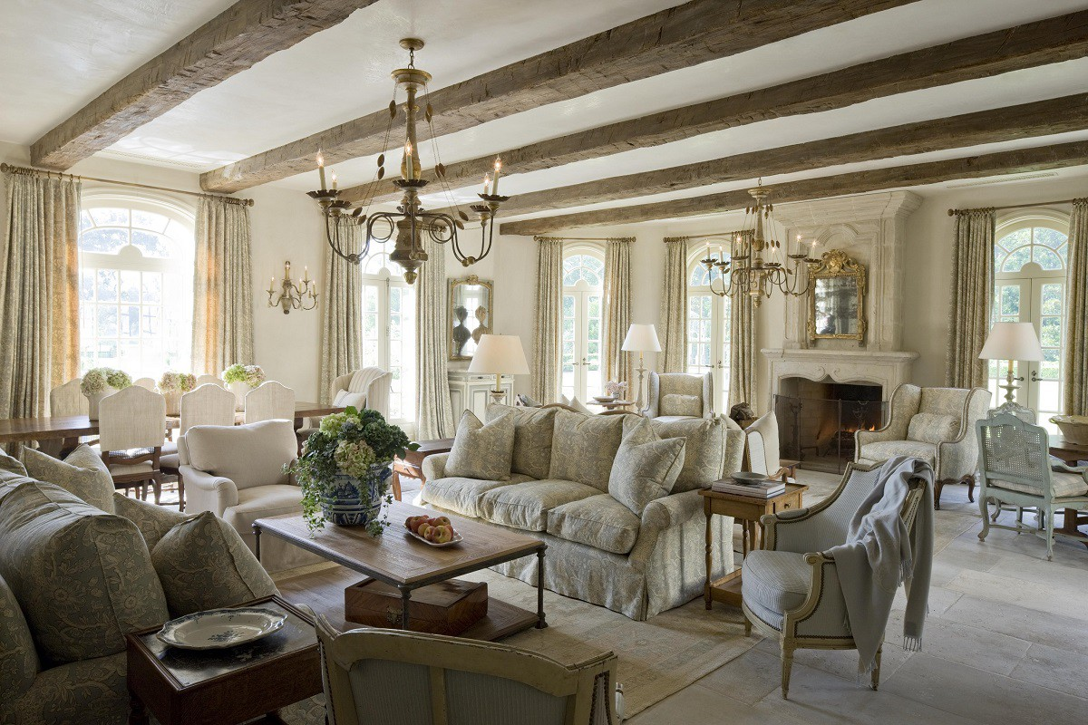 French chateau in texas by kara childress dk decor for The family room in french