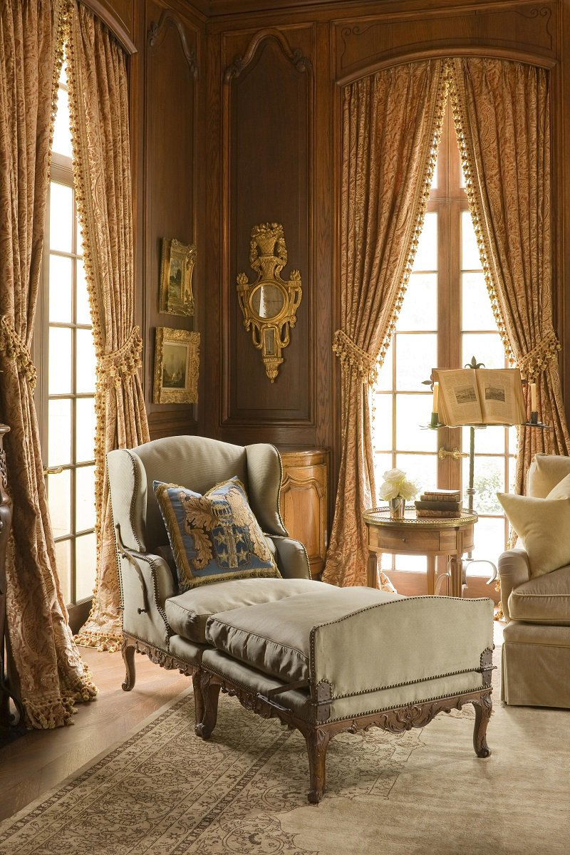 French chateau in texas by kara childress dk decor for Chaise interiors inc