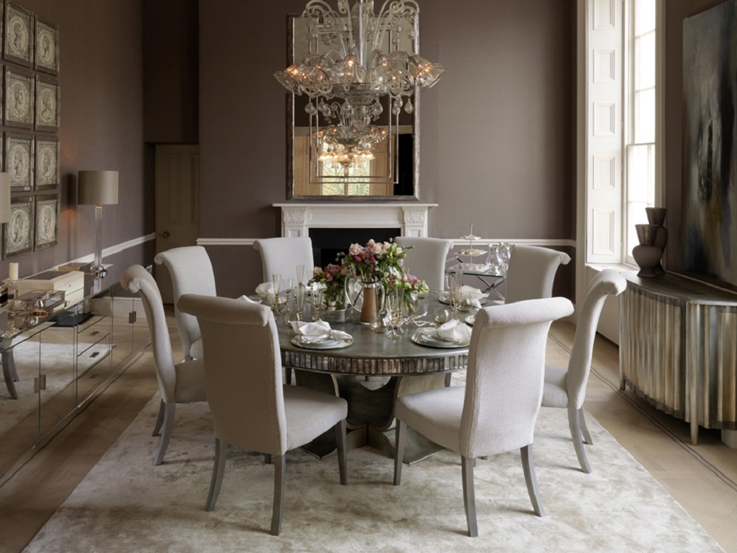 20 outstanding designer dining rooms dk decor for Luxury dining room design