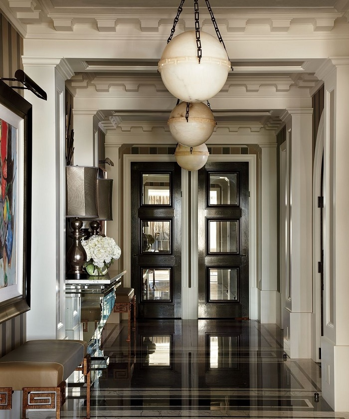 Beverly Foyer Mirror : Grand entrances designer foyers dk decor