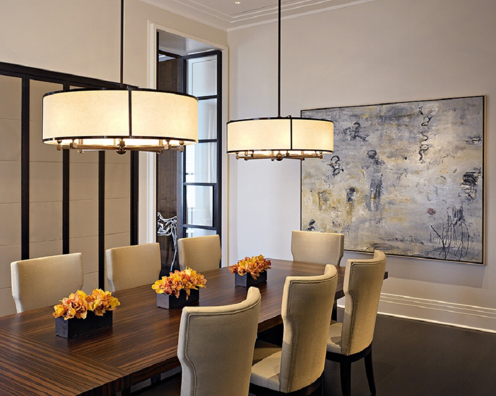 Modern deco design design in chicago dk decor - Modern pendant lighting for dining room ...