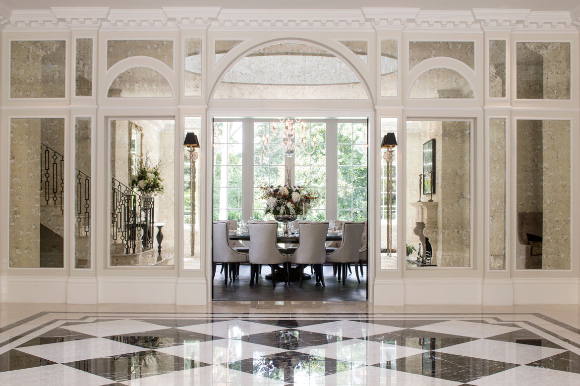 Mansion Foyer Designs : Classical neo palladian mansion dk decor