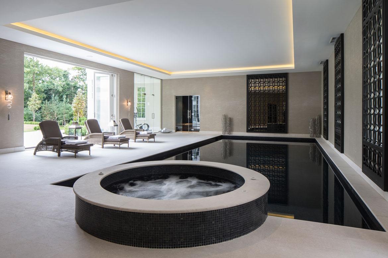 Classical neo palladian mansion dk decor for Pool room design uk
