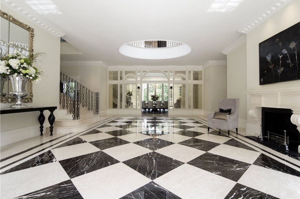 Marble Flooring In A Mansion : Classical neo palladian mansion dk decor