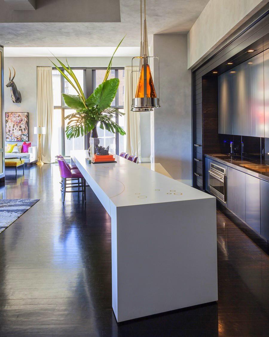 Jamie drake 39 s ultra chic west chelsea apartment dk decor for Drake designs kitchen