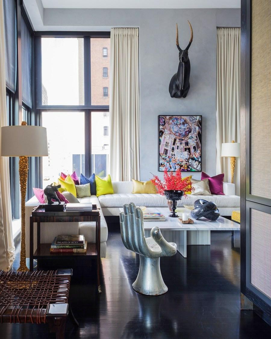 Jamie Drake S Ultra Chic West Chelsea Apartment Dk Decor