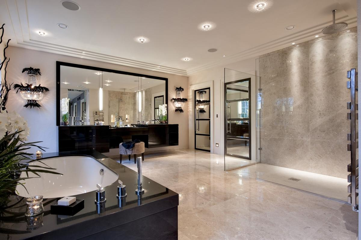 Home Decor Interiors Bathroom : Sophisticated design in st george s hill