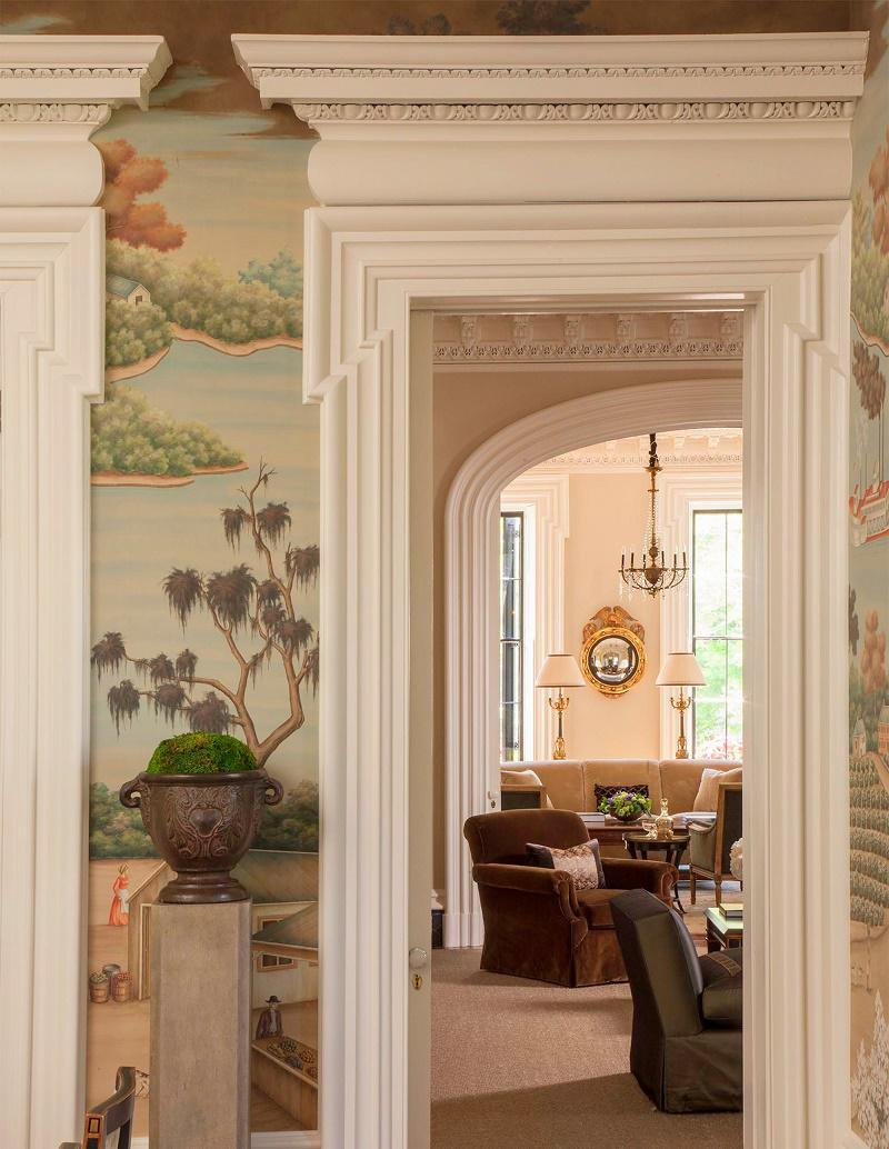 Interior designers in charleston sc - Charleston Classic Design Dining Room Detail