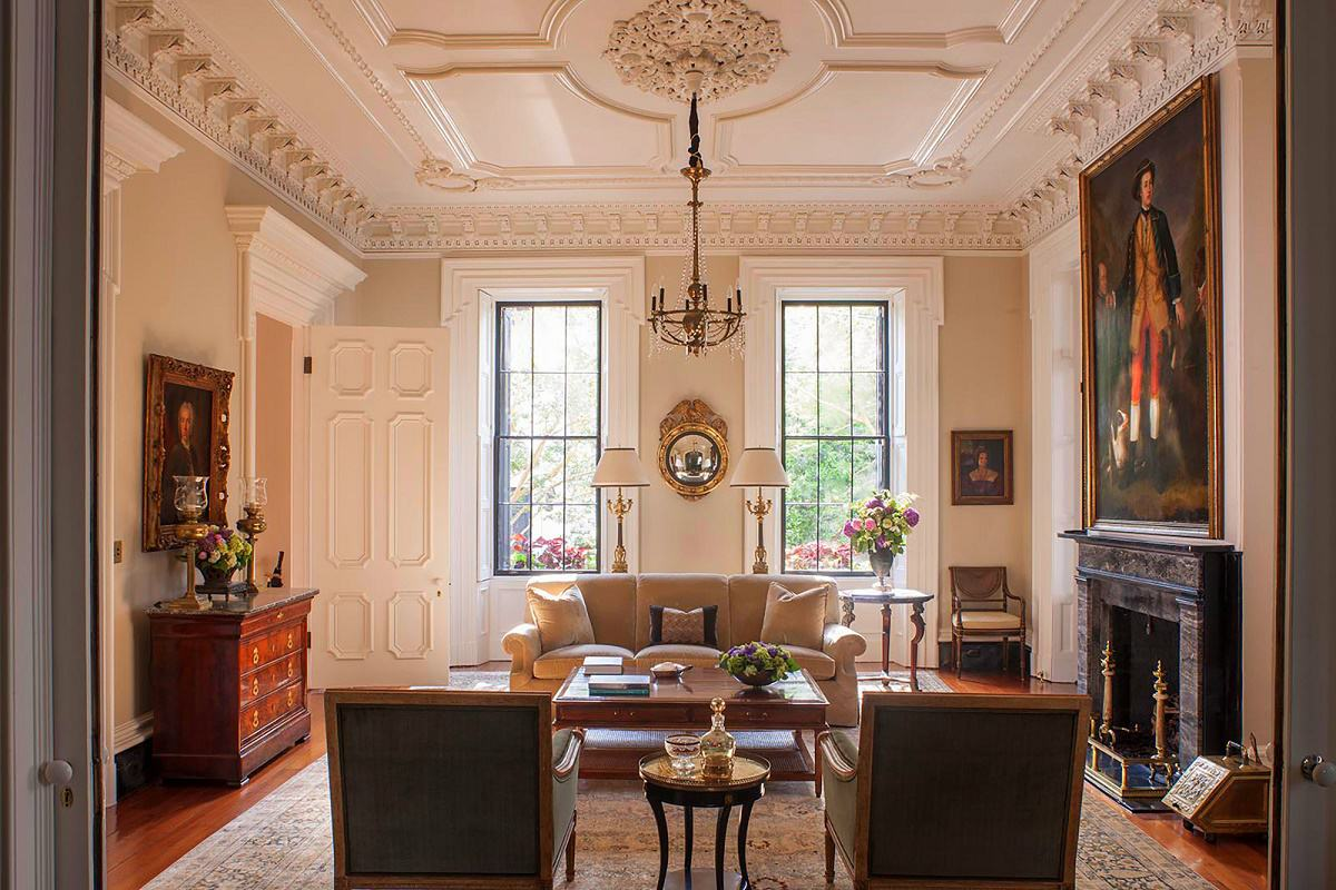 Southern Classic Historic Charleston Mansion Dk Decor