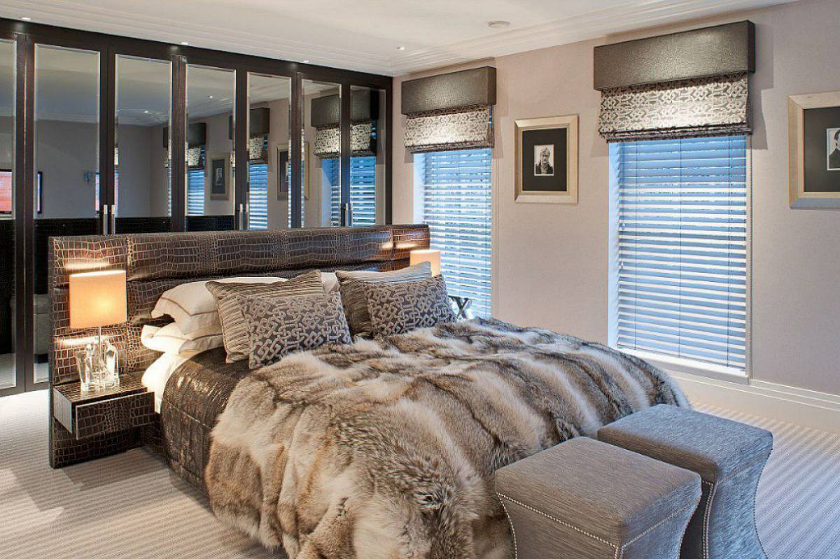 20 inspiring contemporary british bedrooms dk decor for Interior design images for bedrooms