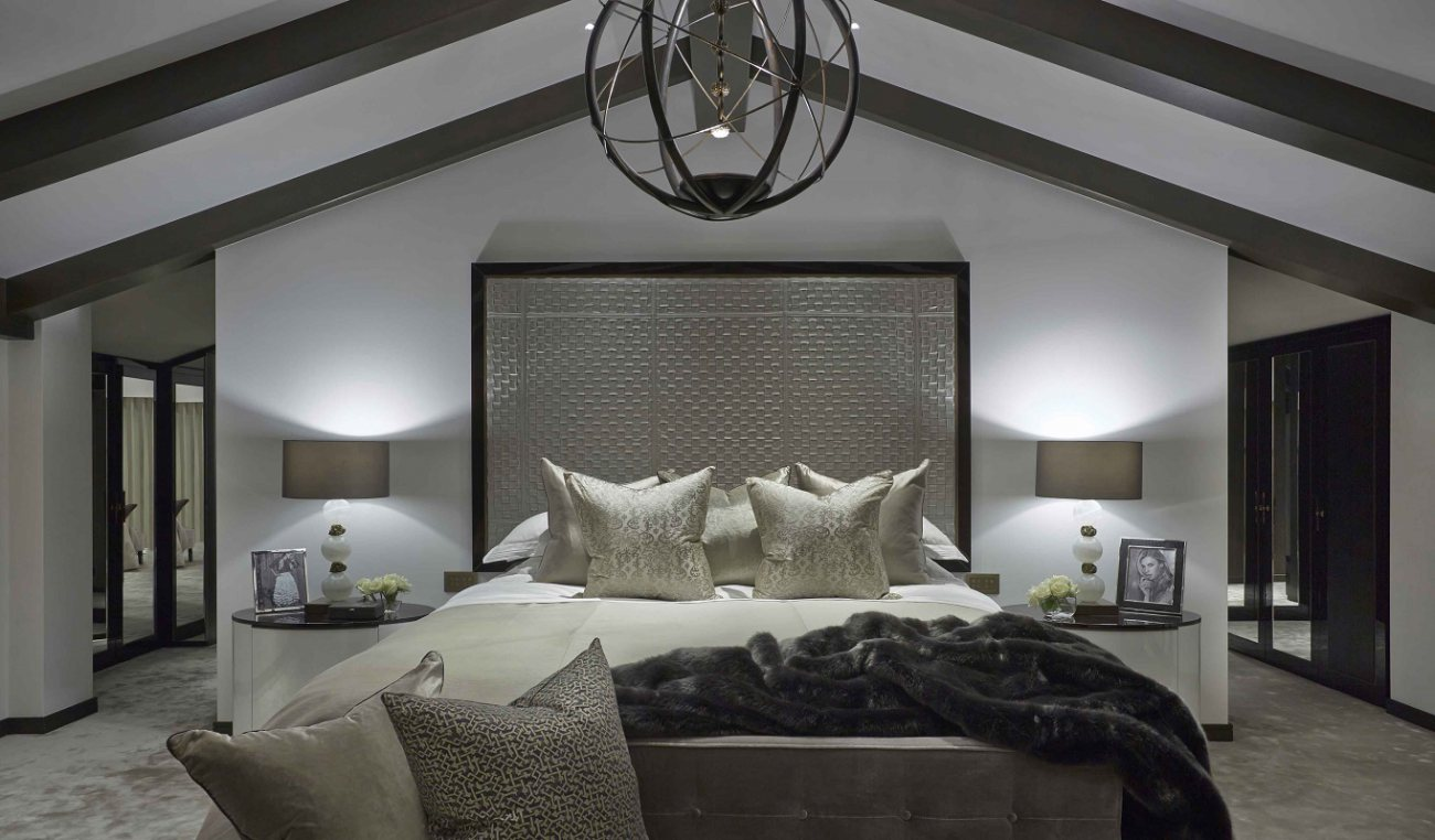 20 inspiring contemporary british bedrooms dk decor for Decoration contemporaine interieur