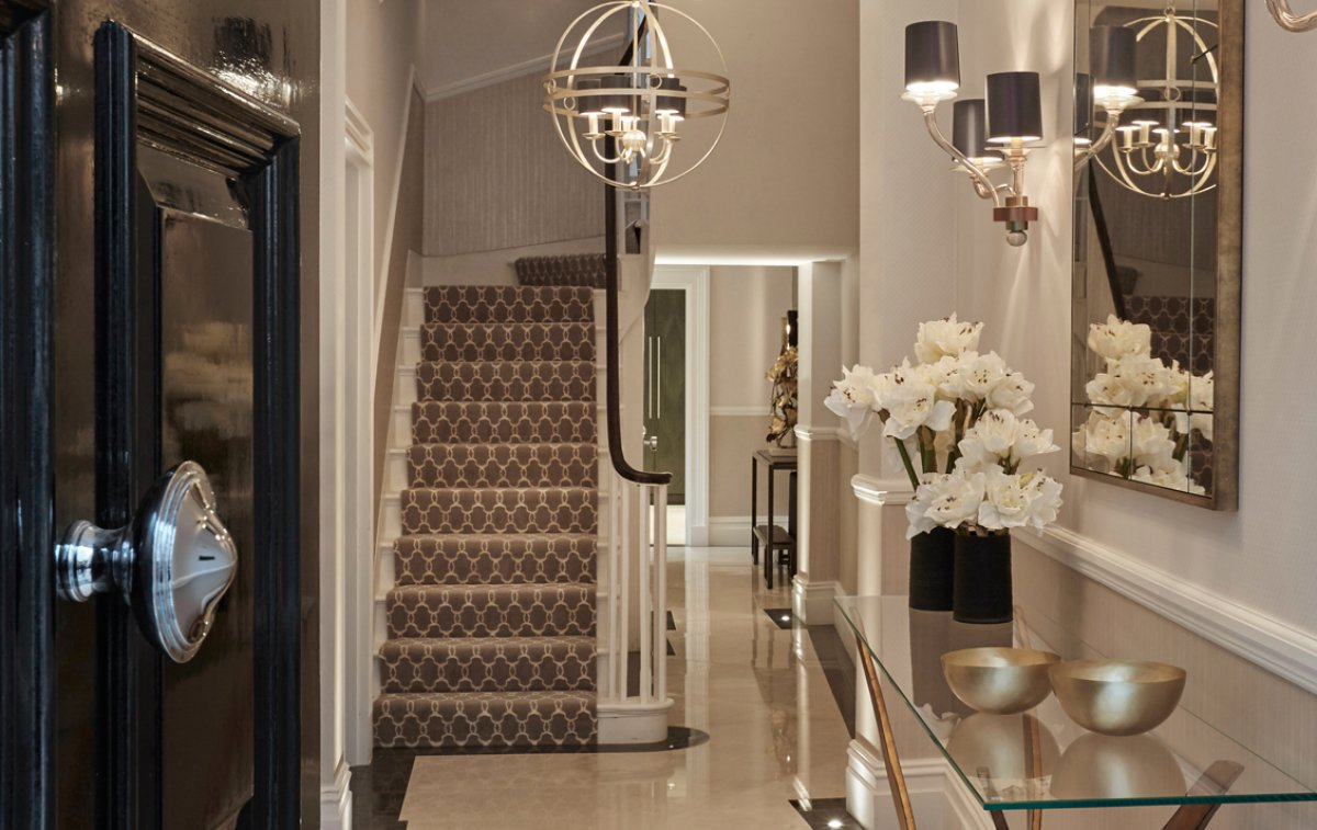 Foyer Ideas For Townhouse : London georgian townhouse renewal dk decor
