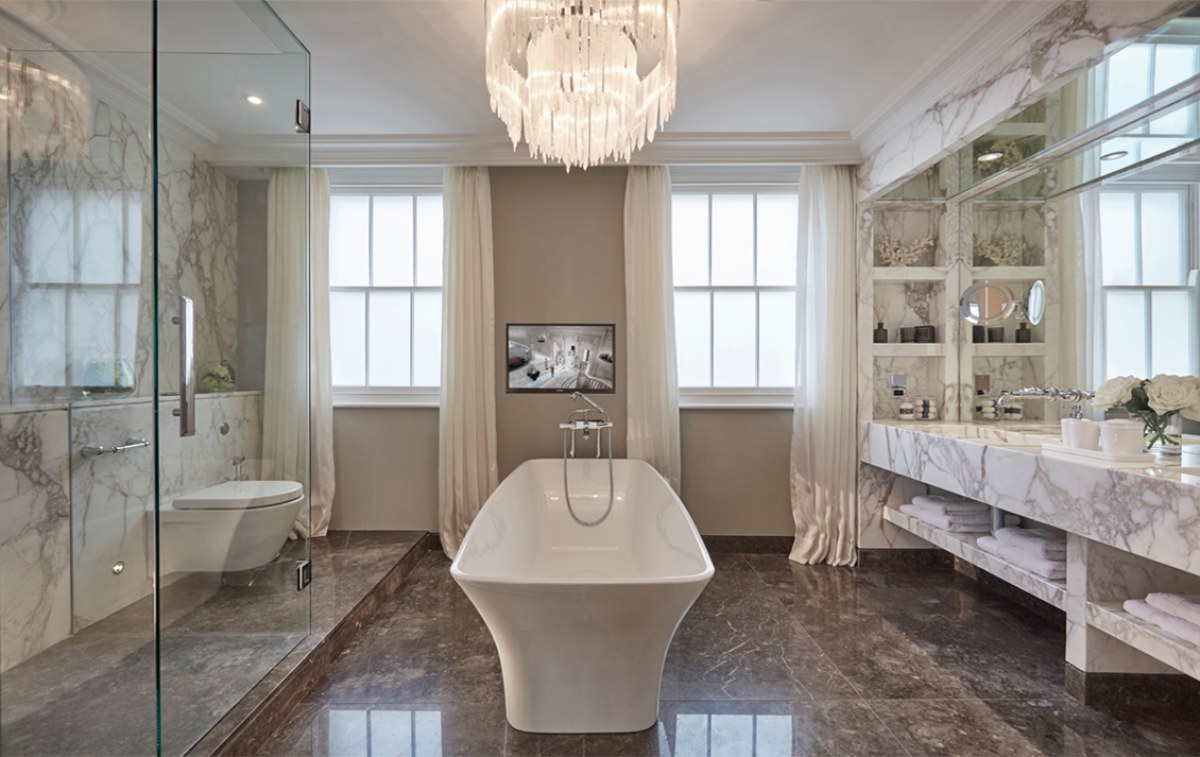 London georgian townhouse renewal dk decor - Bathroom design london ...