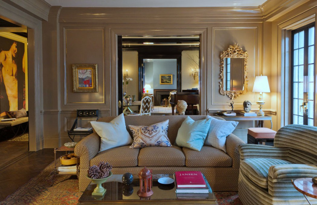 Park avenue contemporary classic Garrow kedigian interior design
