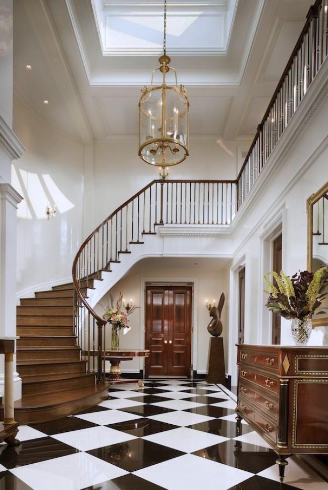 Marble Foyer Entrance : White interior design inspiration key looks dk decor