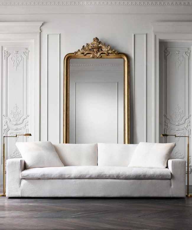 Restoration Hardware Modern: White Interior Design Inspiration: 17 Key Looks