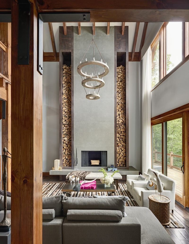 BC Firethorn Great Room Fireplace