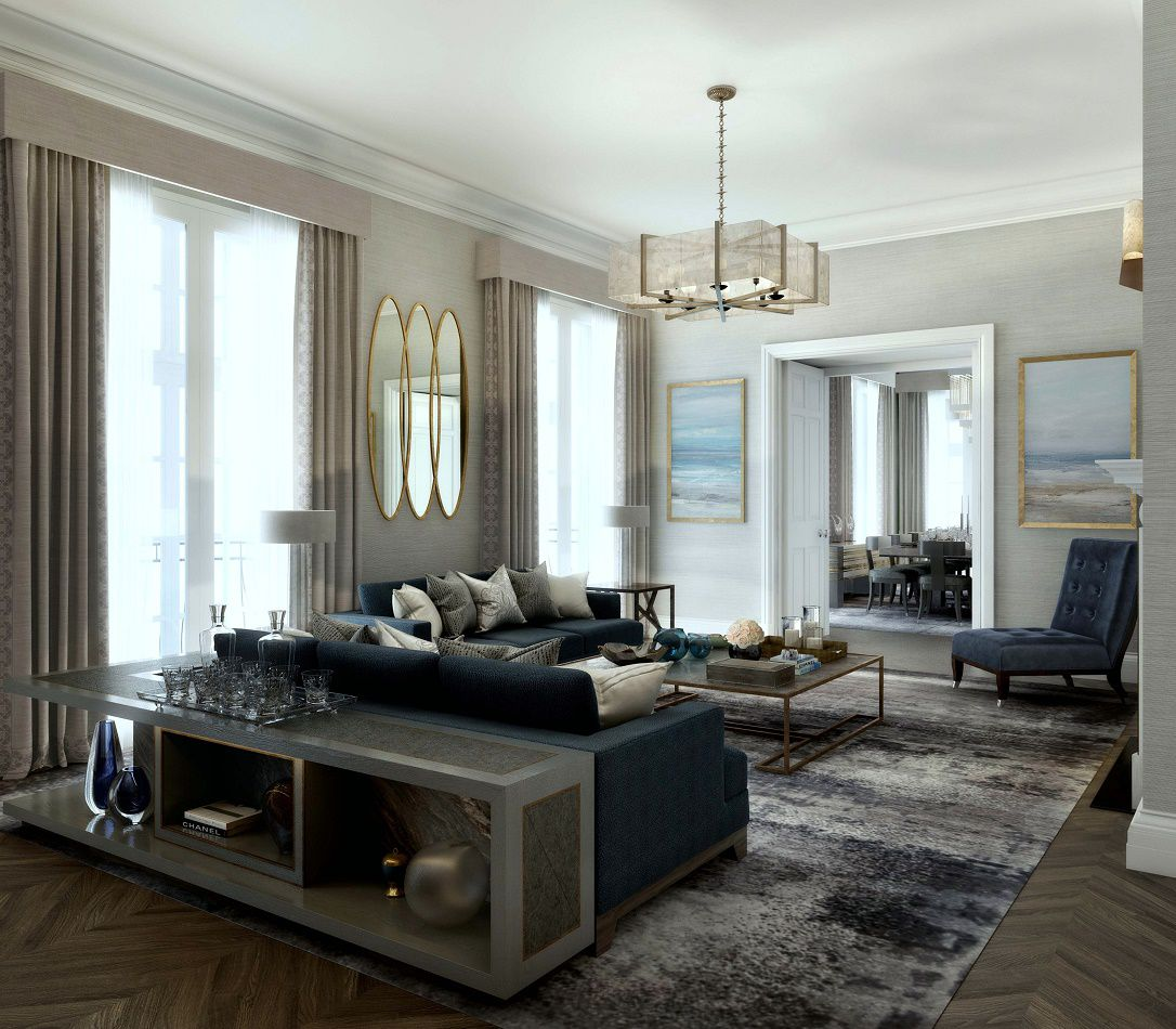 Blue interior design inspiration 20 looks dk decor for Best luxury interior designers