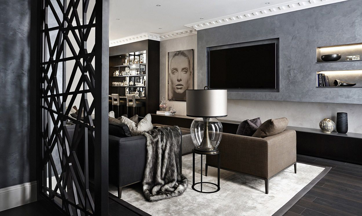 Modern Furniture 2013 Luxury Living Room Curtains Designs: Boscolo: Contemporary Luxury Design