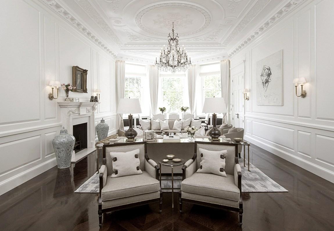 Contemporary Regency Design In Belgravia Dk Decor