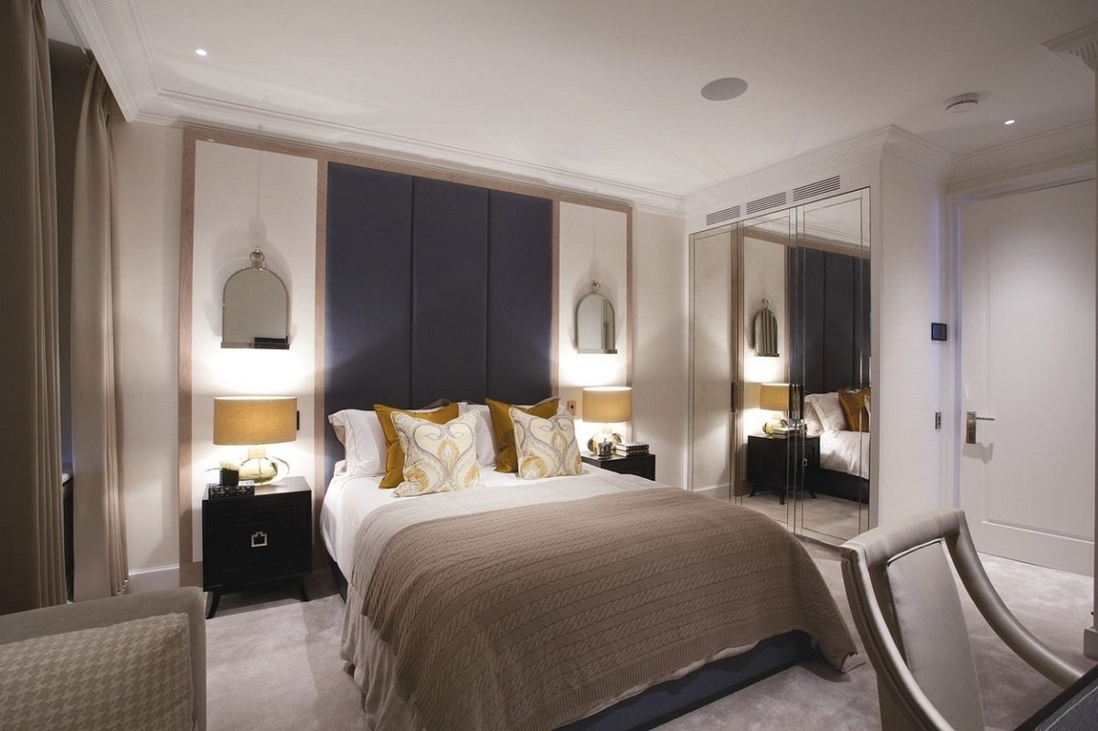 Luxury interior design in mayfair dk decor for Expensive bedroom designs