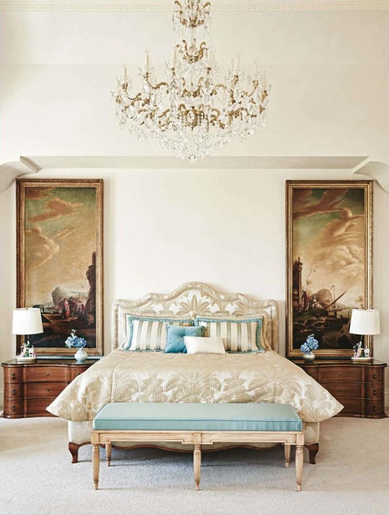 Classic mediterranean design in arizona dk decor for Classic master bedroom ideas