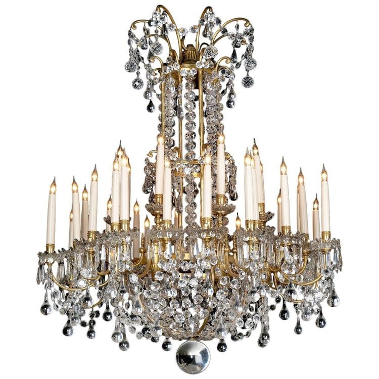 a louis xvi style gilt bronze and cut glass thirty two light chandelier by la compagnie des cristalleries de baccarat circa 1890 this fine chandelier has baccarat zenith arm black crystal chandelier