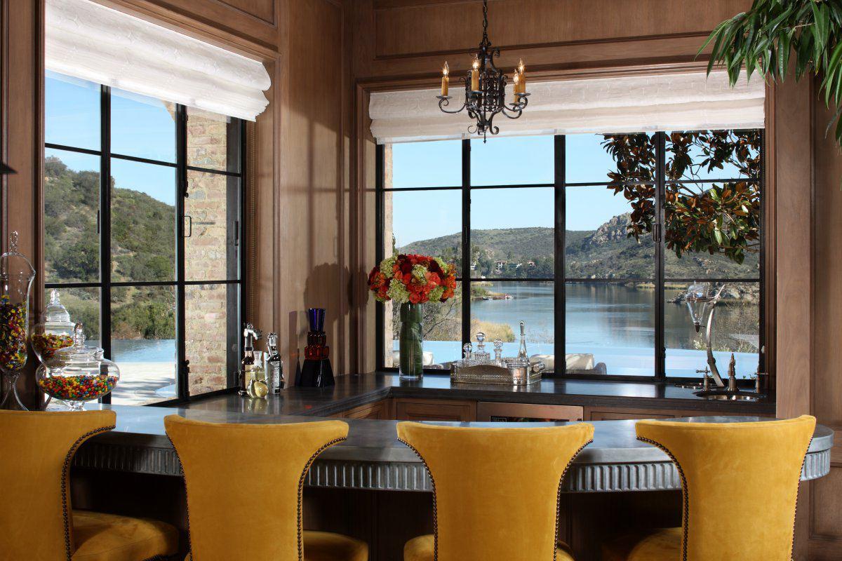 Villa Del Lago Tuscan Inspired Luxury Estate Dk Decor
