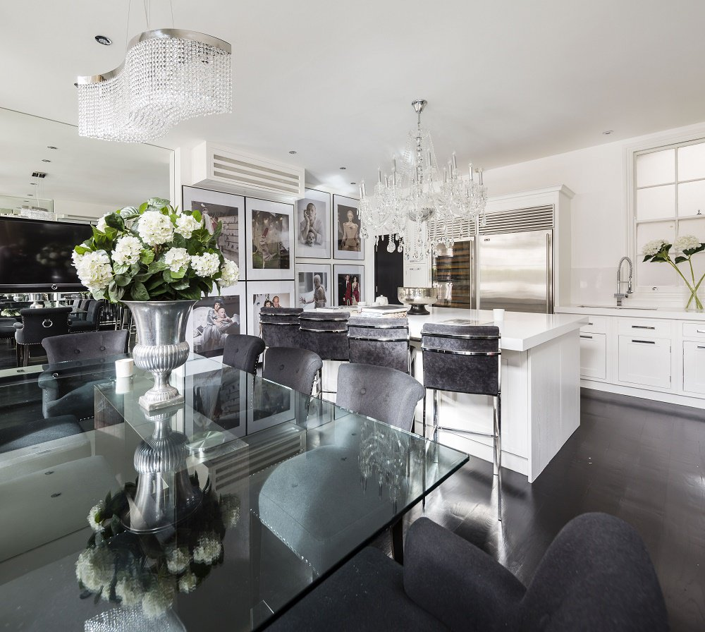 Kitchen And Dining Room Together Room And Kitchen: Alexander McQueen Penthouse: Style Homage