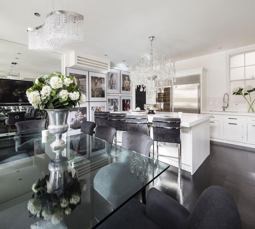 Kitchen Dining Design Photos: Alexander McQueen Penthouse: Style Homage