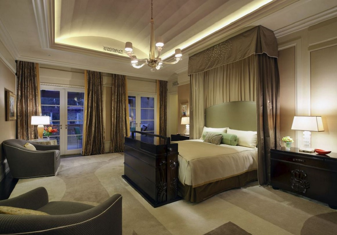 Deco inspired villa by joan behnke dk decor for Large master bedroom dresser