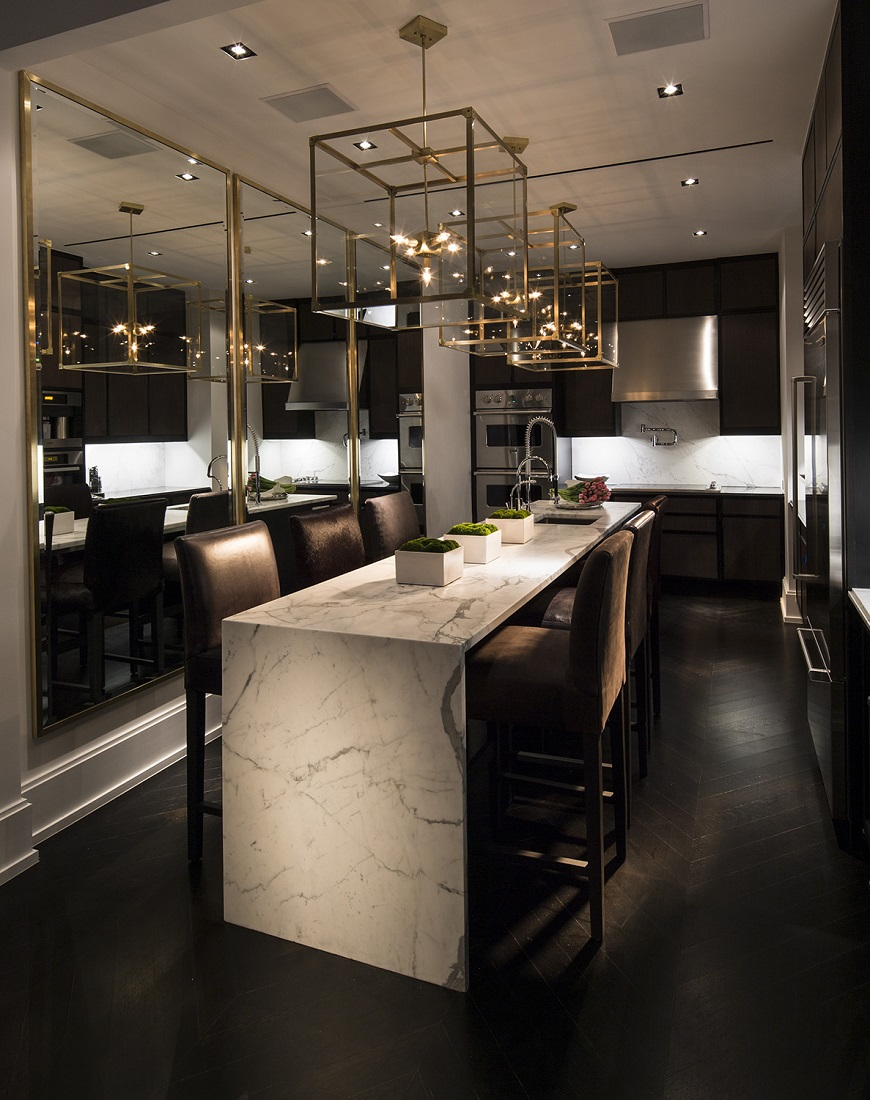 New york pied a terre michael dawkins dk decor for Nyc pied a terre