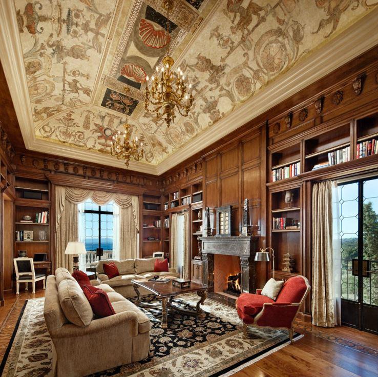 sfa-design-italian-pallazzo-library
