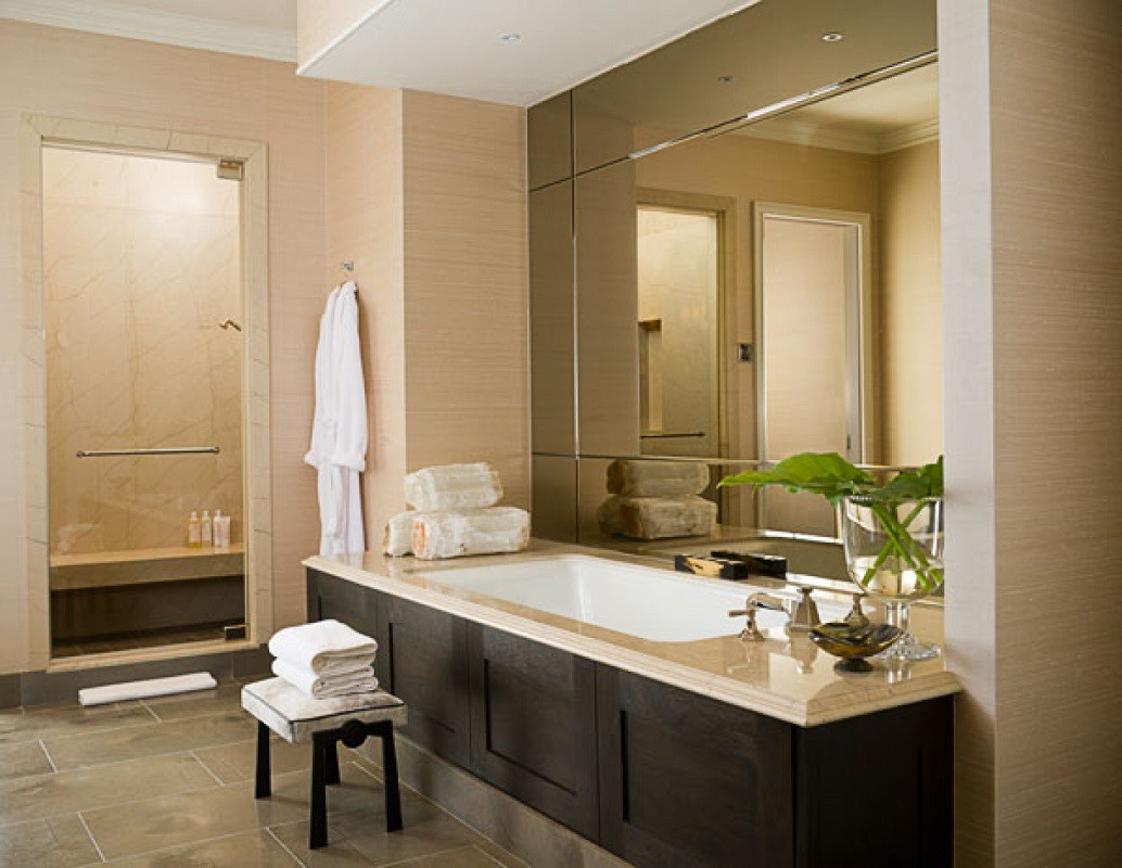 Sojo Ritz Carlton luxury penthouse bathroom tub