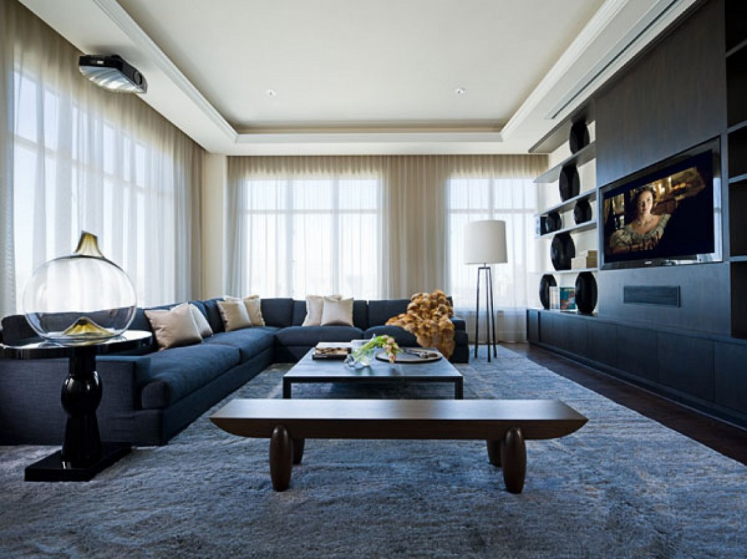 Sojo Ritz Carlton luxury penthouse den