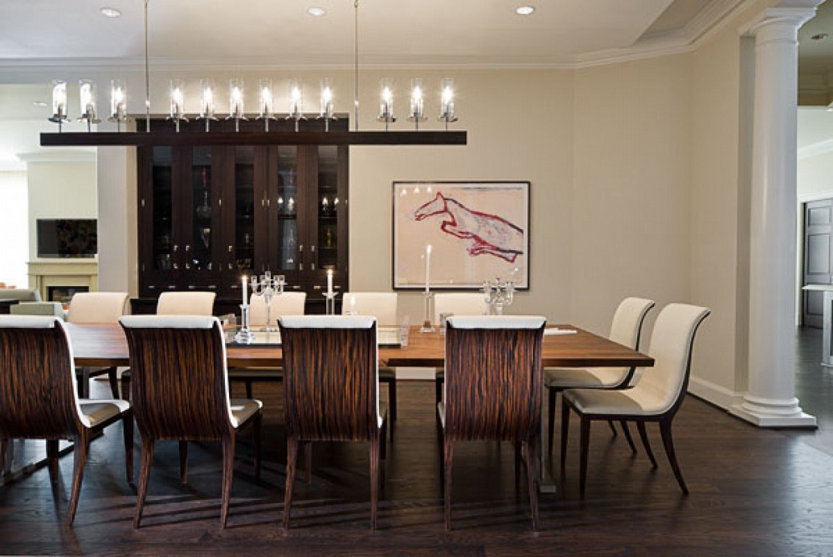 Sojo Ritz Carlton luxury penthouse dining room
