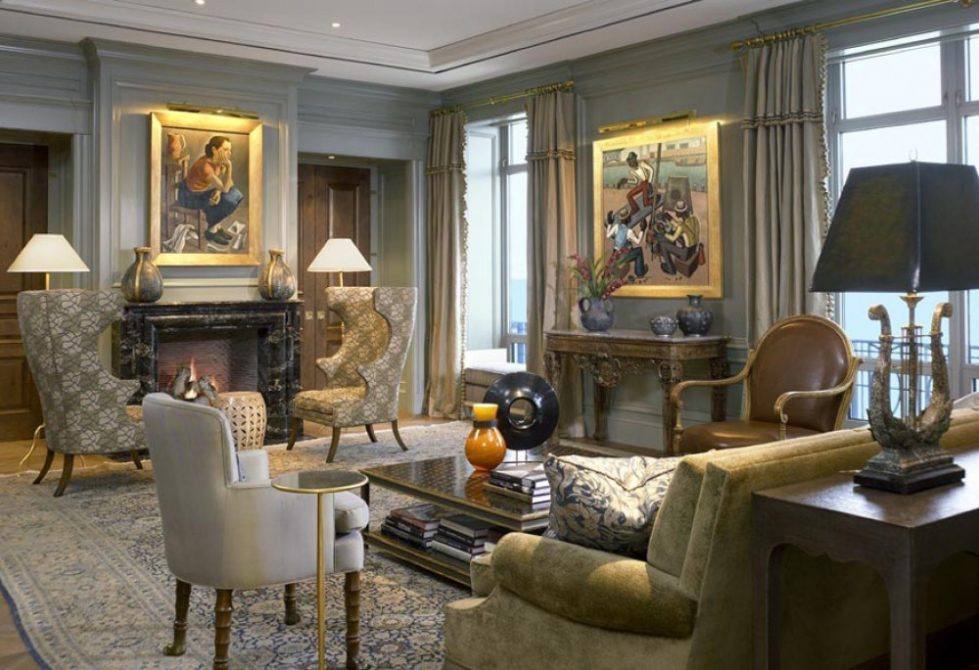 Contemporary Beaux Arts Penthouse Jessica Lagrange Dk Decor
