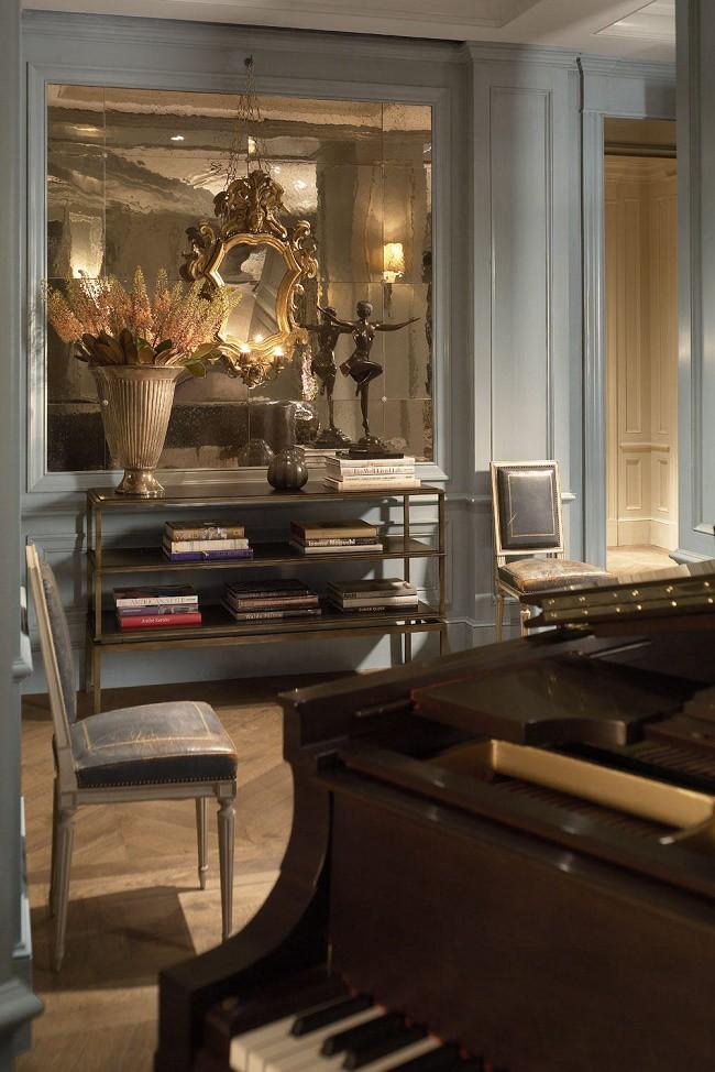 Beaux Arts Interior Design Plans contemporary beaux arts penthouse jessica lagrange - dk decor