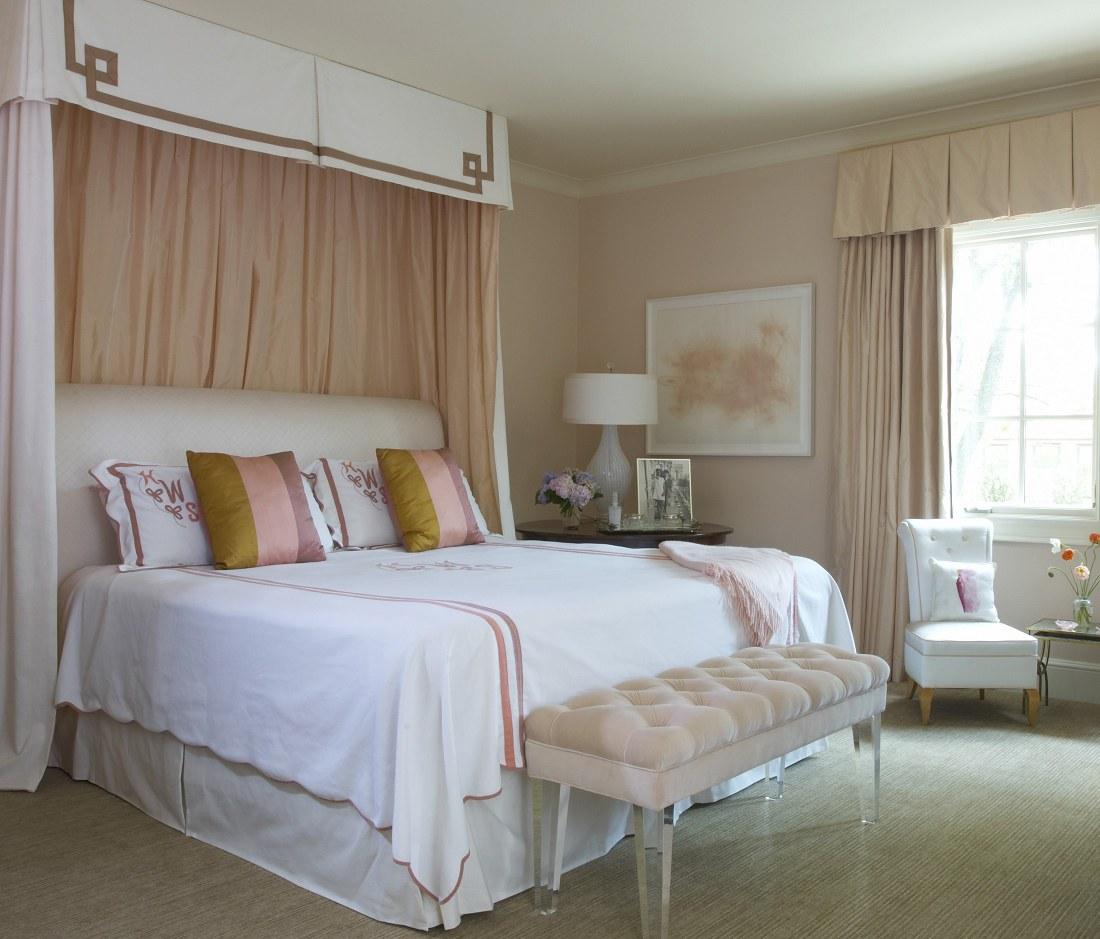Jan Showers understated glamour Highland Park bedroom 2