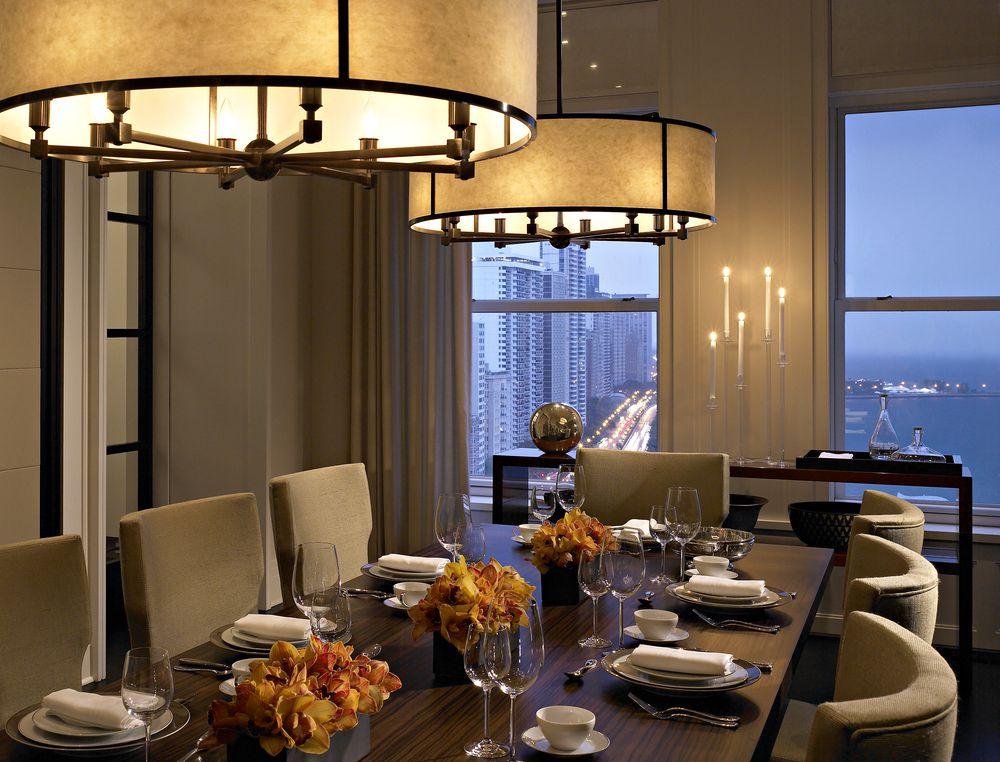 Kadlec Modern Deco dining room full view