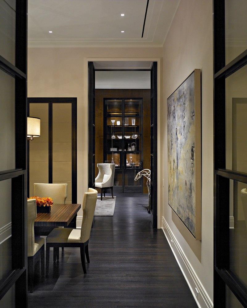 Kadlec Modern Deco dining room side view