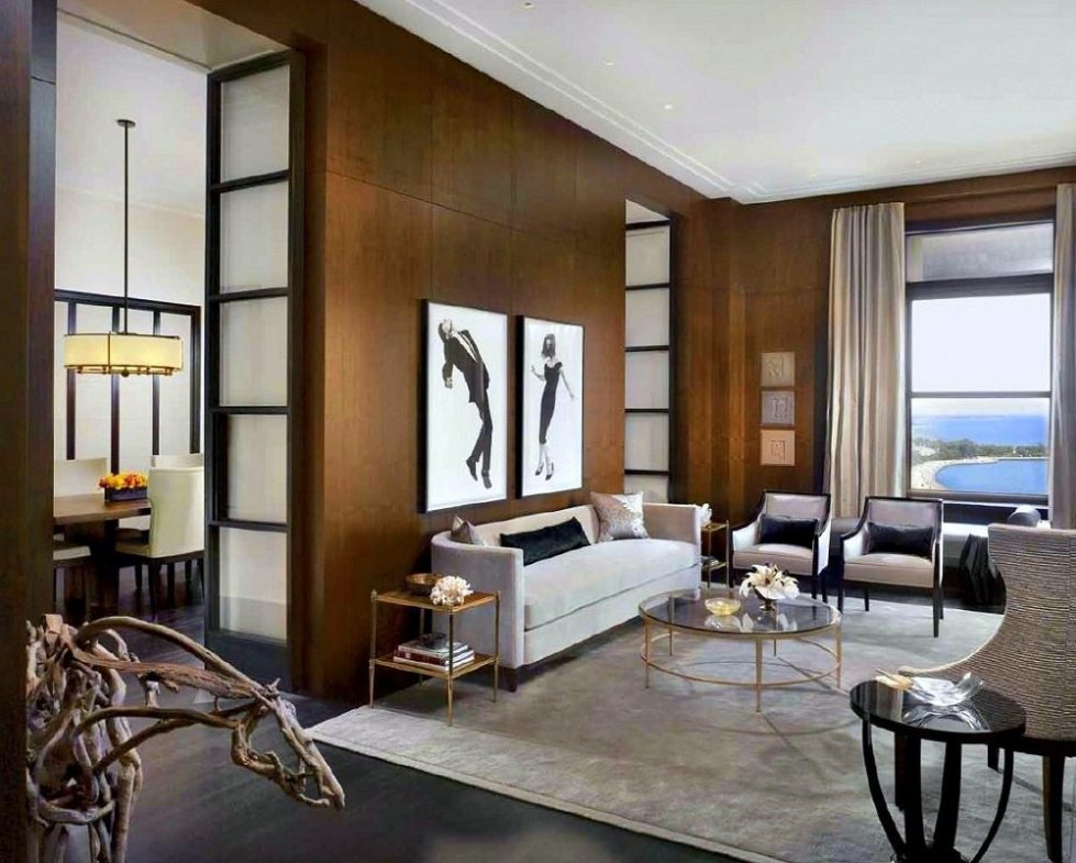 A Modern Art Deco Home Visualized In Two Styles: Modern Deco Interior Design Design: Chicago