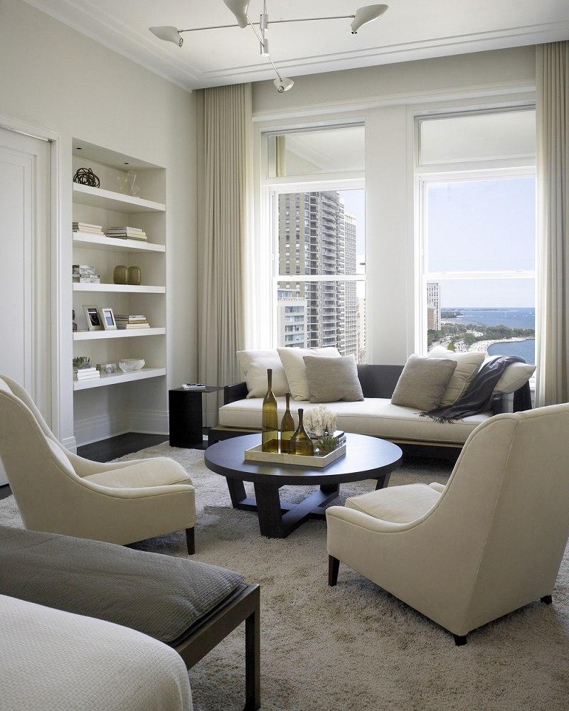 Kadlec modern deco master bedroom sitting area