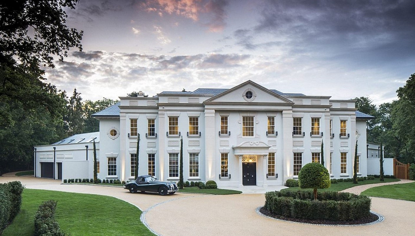Classical inspired surrey mansion dk decor for Home architecture planning engineering consultants