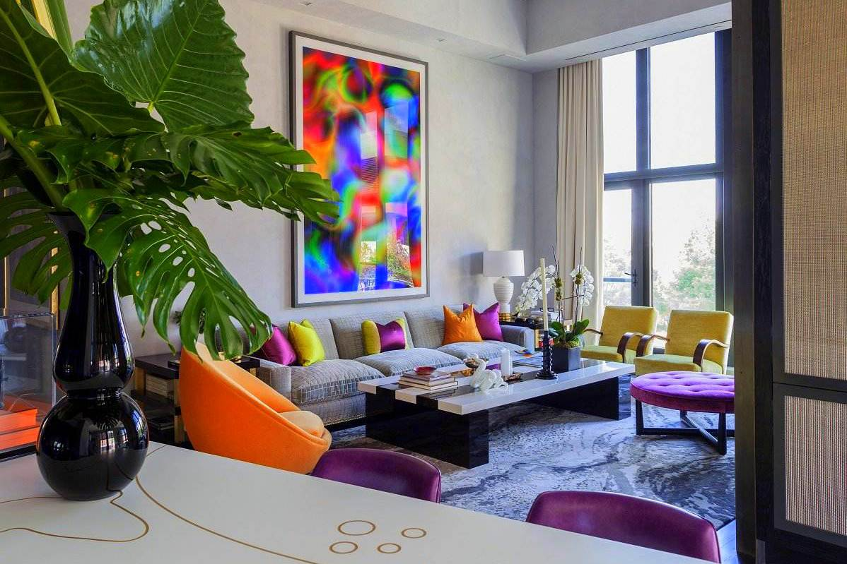 More on designer jamie drake the king of color simplified bee - Jamie Drake S Apartment West Chelsea Ny