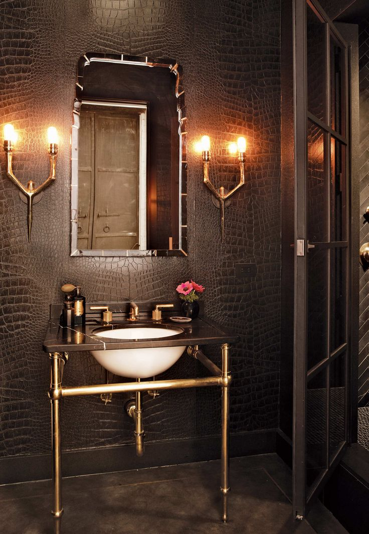 18 statement making powder rooms dk decor for New trends in design