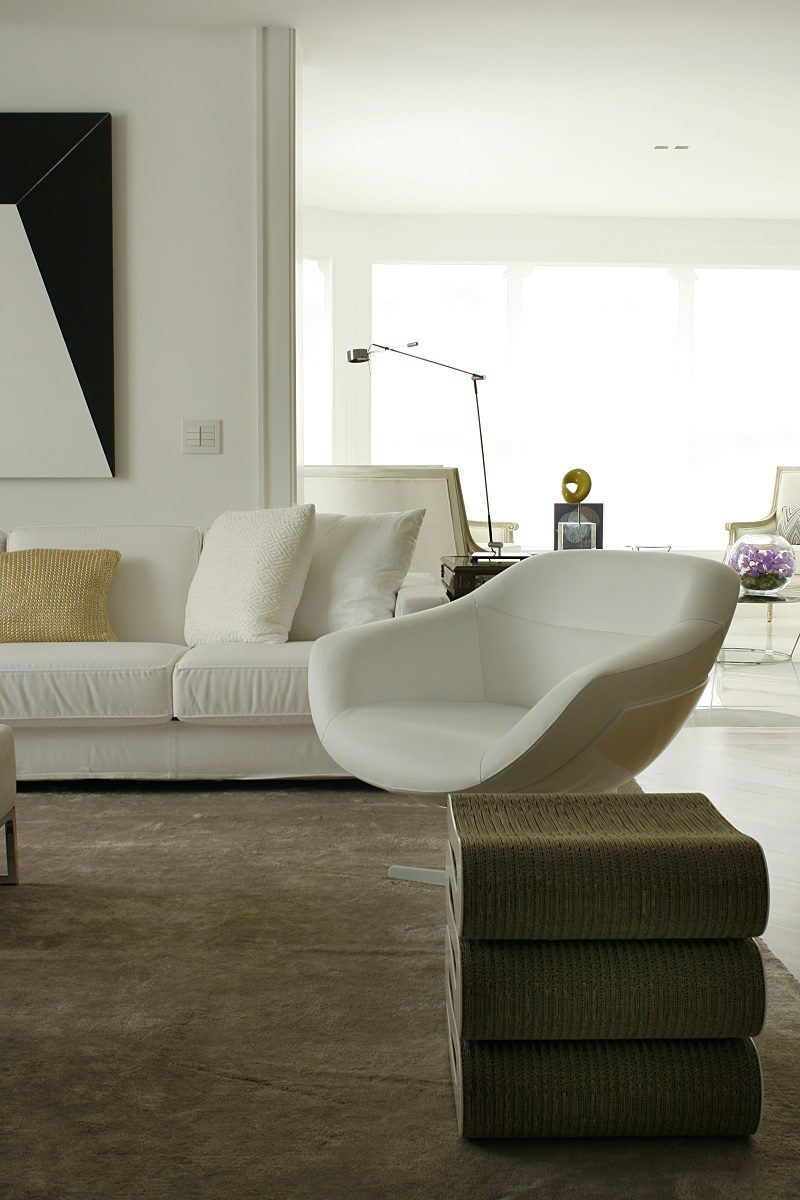 diego revollo artist's apartment reinvention living room seating details