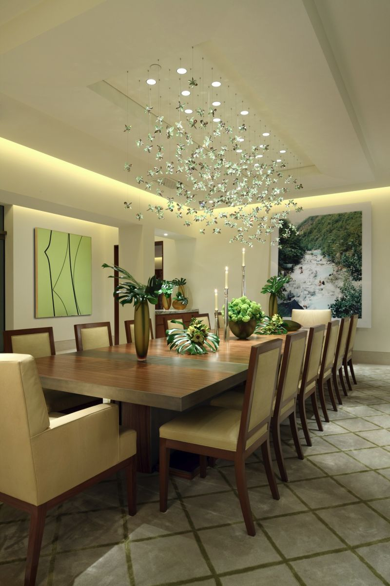 Hillside luxury home design inspiration dk decor for Dining room design inspiration