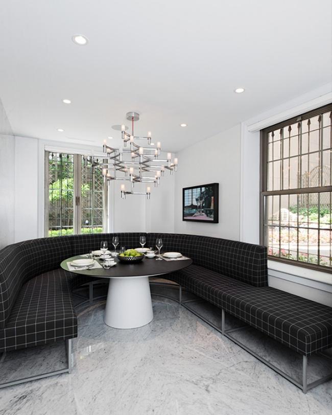 modern classic design breakfast area