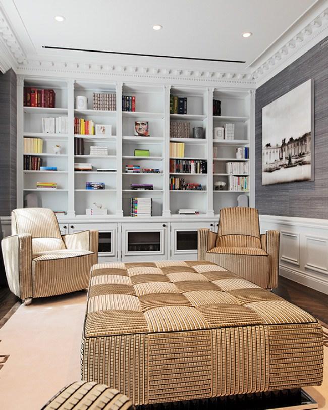 modern classic design family room